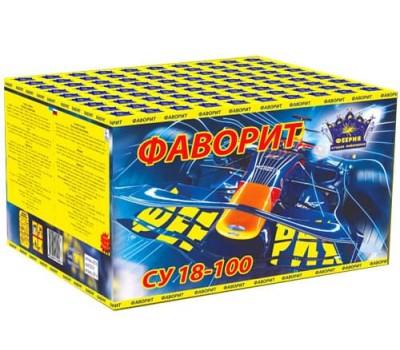 Купить фейерверк СУ30-100/4(1/1) Салютная установка 100-зар. Фаворит оптом. Самые выгодные цены.