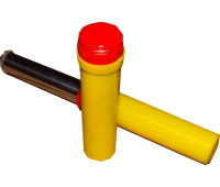 FF-03 (24/4) Файер красный ручной в пластиковом корпусе с чекой