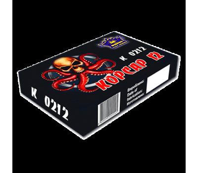 Купить фейерверкк K0212 (50/6) Петарда Корсар 12 модель 2017 года оптом