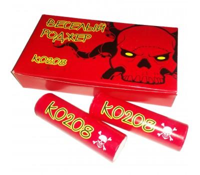 Купить шутихи K0208(50/6) Петарда Весёлый роджер оптом. Самые выгодные цены на петарды всех видов.